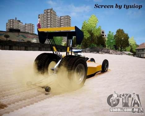 Raketomobil′ para GTA 4 vista de volta