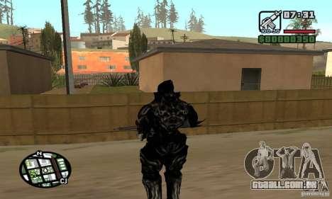 Alex Mercer v2 para GTA San Andreas quinto tela