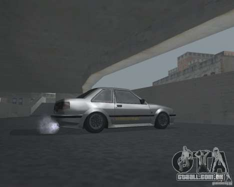 Futo de GTA 4 para GTA San Andreas vista traseira