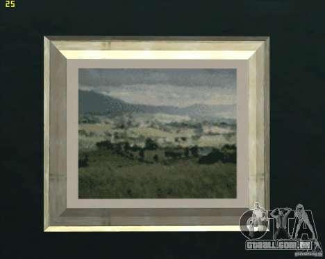 Pinturas da casa CJ para GTA San Andreas segunda tela