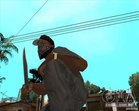 Rambo HD para GTA San Andreas segunda tela