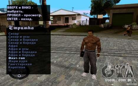 CJ novo para GTA San Andreas décima primeira imagem de tela