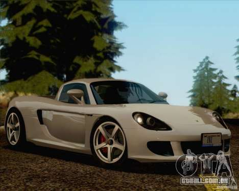 Porsche Carrera GT para GTA San Andreas esquerda vista