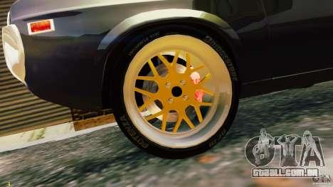 Mazda RX-4 para GTA 4 vista de volta