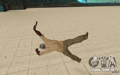 Nova queda para GTA San Andreas quinto tela