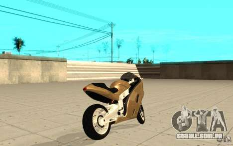 GTAIV TLAD Hakuchou Custom Version para GTA San Andreas traseira esquerda vista