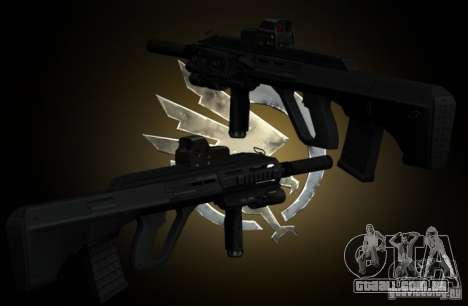 AUG-A3 Special Ops Style para GTA San Andreas