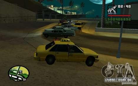 Amstrad em um acidente para GTA San Andreas