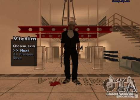 Nova máfia russa de pele # 1 para GTA San Andreas segunda tela