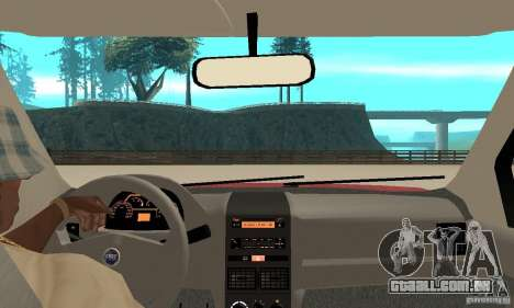 Fiat Siena HLX 1.8 Flex para GTA San Andreas vista direita