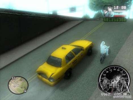 Chuva congelada para GTA San Andreas terceira tela