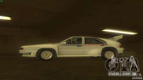 Citroen BX 4TC para GTA San Andreas esquerda vista
