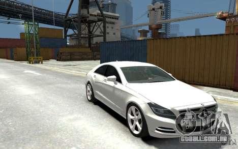 Mercedes-Benz CLS 350 para GTA 4 vista de volta