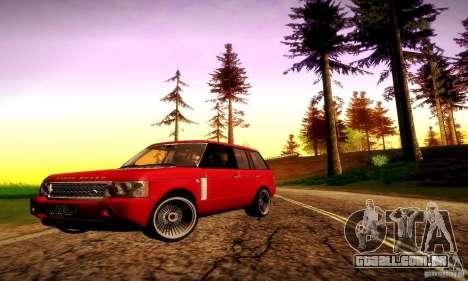 Range Rover Supercharged para as rodas de GTA San Andreas