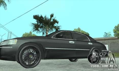 Lincoln Town Car 2002 para GTA San Andreas vista direita