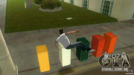 Cleo Parkour for Vice City para GTA Vice City quinto tela