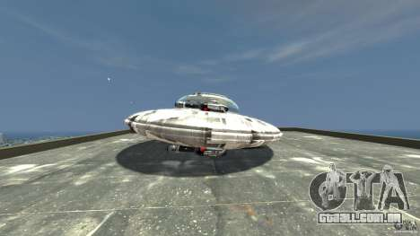 UFO ufo textured para GTA 4 esquerda vista