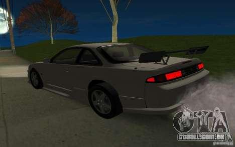 Nissan 200SX para GTA San Andreas interior