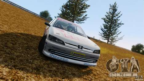 Peugeot 306 Gr. N Rally para GTA 4