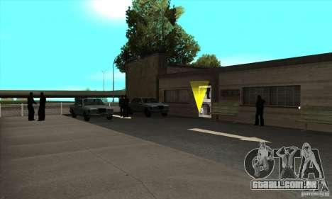 Renovação de condução escolas em San Fierro para GTA San Andreas terceira tela