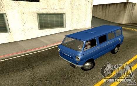 ZAZ 970 para GTA San Andreas vista traseira