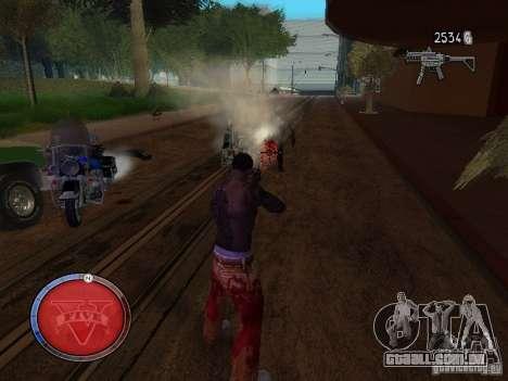 GTA 5 HUD para GTA San Andreas terceira tela