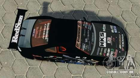 Nissan Silvia S15 HKS para GTA 4 vista direita