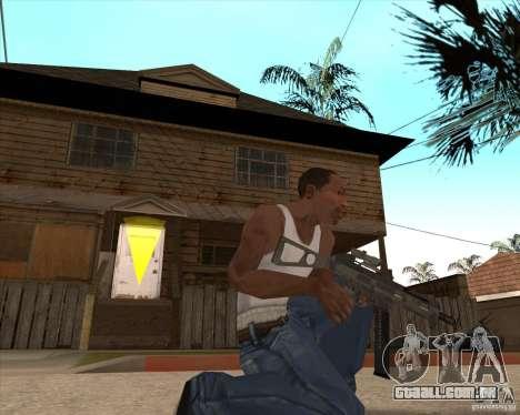 CoD:MW2 weapon pack para GTA San Andreas