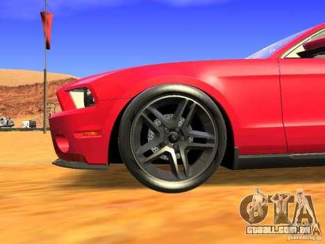 Ford Shelby GT500 para GTA San Andreas vista direita