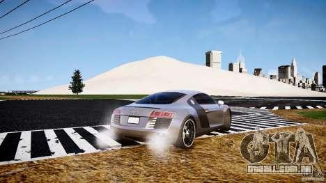 Audi R8 2008 para GTA 4 traseira esquerda vista