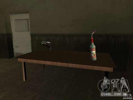 Pak versão doméstica de armas 2 para GTA San Andreas nono tela