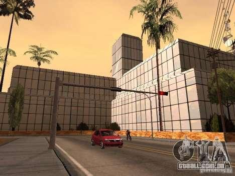 O novo hospital em Los Santos para GTA San Andreas por diante tela