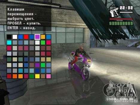 Carcols.dat By Russiamax para GTA San Andreas quinto tela