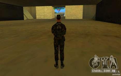 HQ skin Army para GTA San Andreas quinto tela