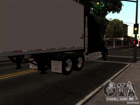 International Prostar para GTA San Andreas esquerda vista