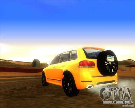 Volkswagen Touareg R50 para GTA San Andreas esquerda vista