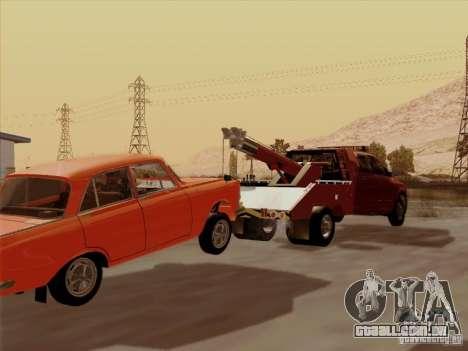 Dodge Ram 3500 TowTruck 2010 para GTA San Andreas vista traseira