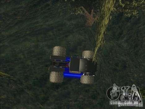 Monsterous Truck para GTA San Andreas esquerda vista