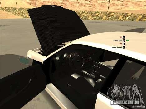 BMW M3 E36 para GTA San Andreas traseira esquerda vista