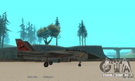 F14W Super Weirdest Tomcat Skin 2 para GTA San Andreas esquerda vista