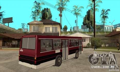 LAZ-4202 para GTA San Andreas vista direita