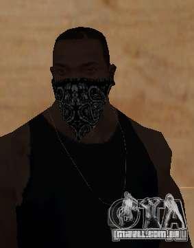 New Bandanas Style para GTA San Andreas quinto tela