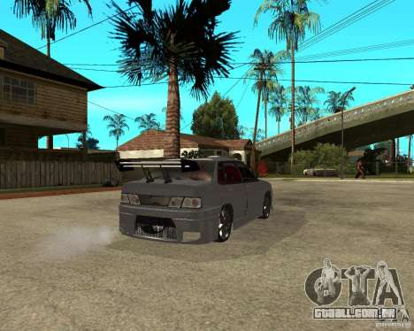 MCC VAZ 2115 para GTA San Andreas traseira esquerda vista