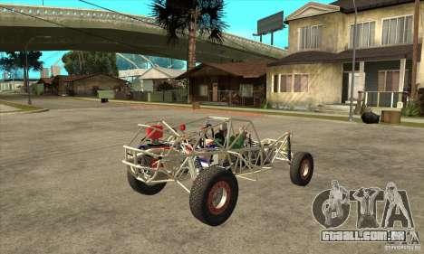 Dirt 3 Stadium Buggy para GTA San Andreas vista direita