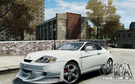 Hyundai Tuscani para GTA 4