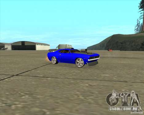 Plymouth Hemi Cuda de NFS Carbon para GTA San Andreas esquerda vista