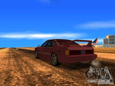 Sentrel Mini Tuning para GTA San Andreas esquerda vista