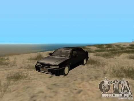 Vaz 2115 Tun luz v. 1.1 para GTA San Andreas esquerda vista