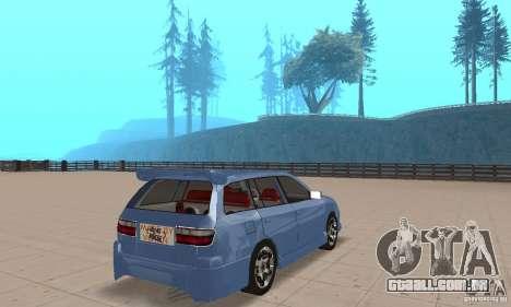 Toyota Carina 1996 para GTA San Andreas esquerda vista