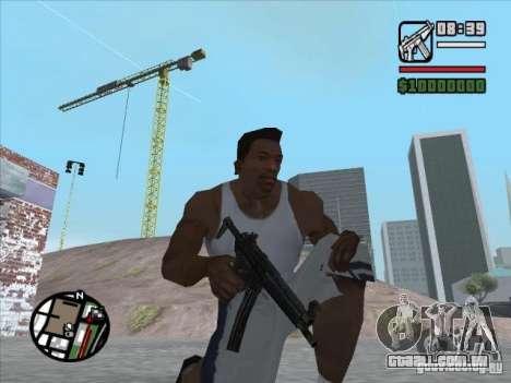 MP5 para GTA San Andreas